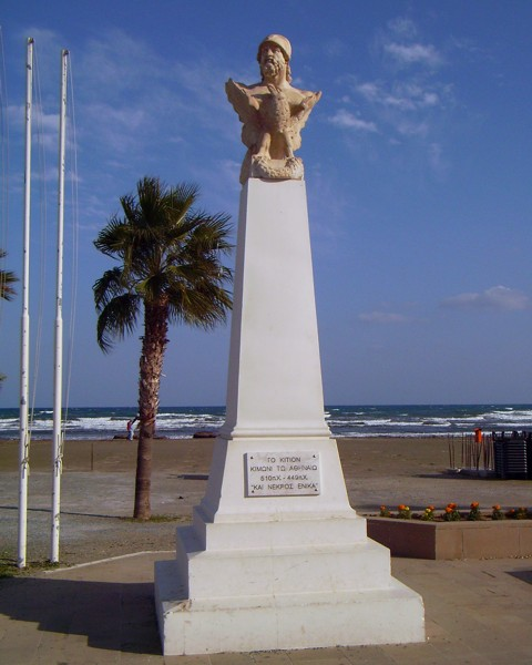 Kimon Denkmal in Larnaka