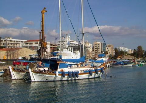 alter Fischerhafen Limassol