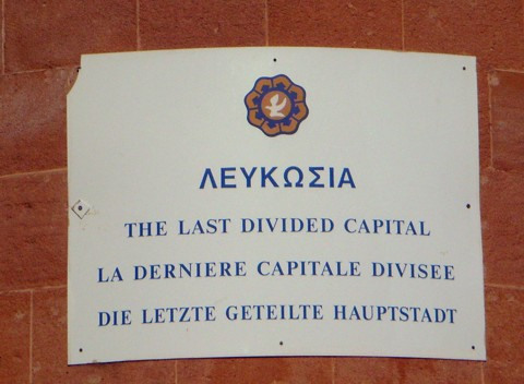 geteilte Hauptstadt Nikosia / Lefkosia