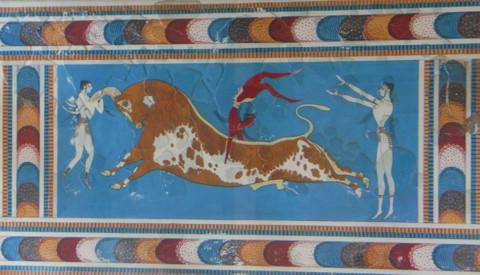 Fresko in Knossos