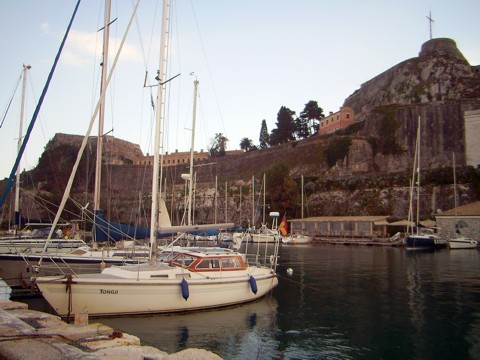 Korfu - alte venezianische Festung