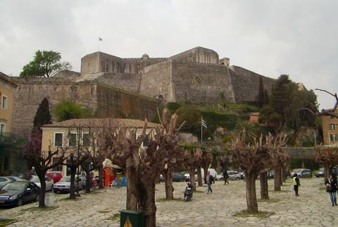 Korfu - neue Festung