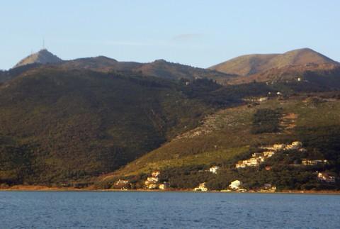 Nordküste von Korfu