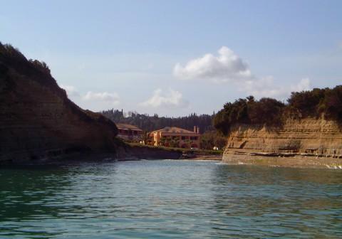 Küste bei Sidari