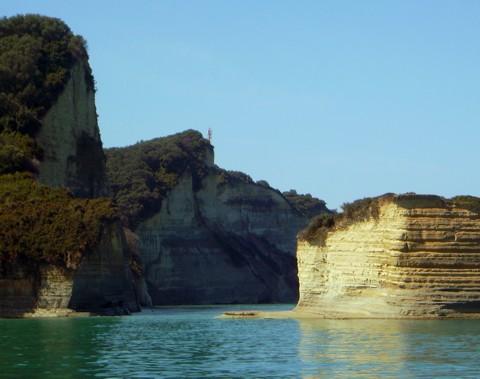 Küste im Norden von Korfu, Sidari