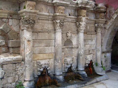 Rimondi-Brunnen - Rethymno