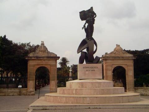 Unabhängigkeitsdenkmal Valletta / Malta