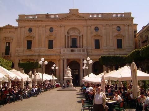Bibliothek Valletta