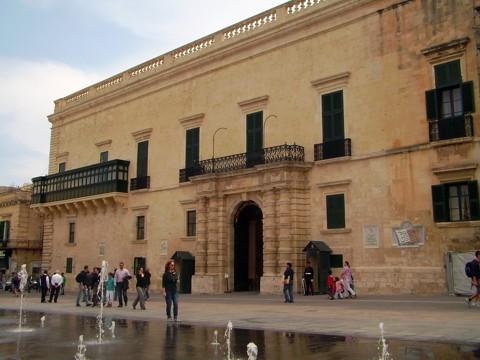 Valletta - Großmeisterpalast