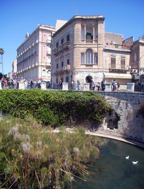 Fonte Aretusa - Syrakus