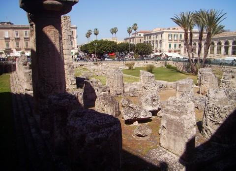 Apollontempel in Syrakus