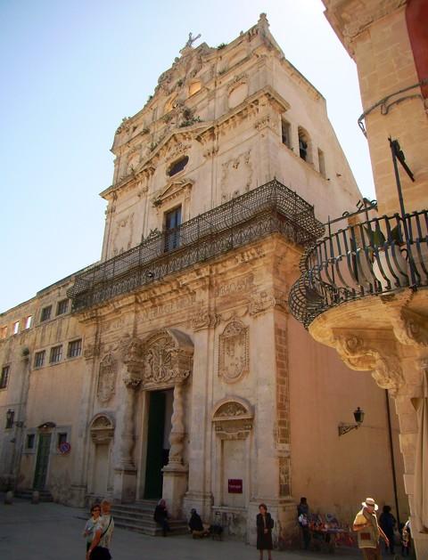 Chiesa Lucia alla Badia in Syrakus
