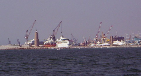 Hafen Livorno
