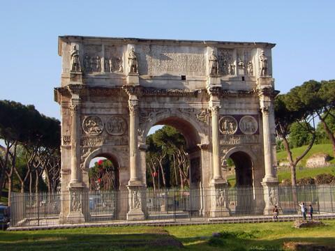 Rom - Triumphbogen Kaiser Konstantin