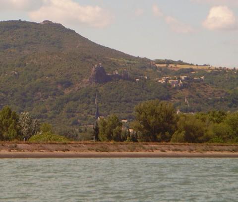 Ruinen von Rochemaure