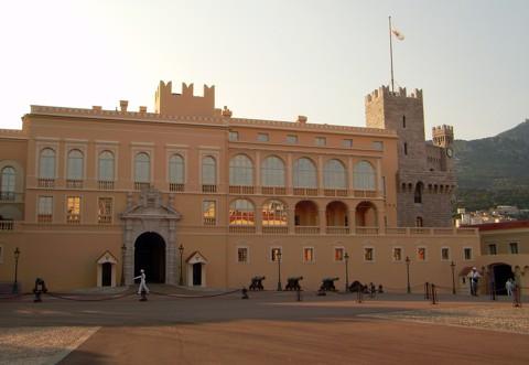 Monaco - Fürstenpalast