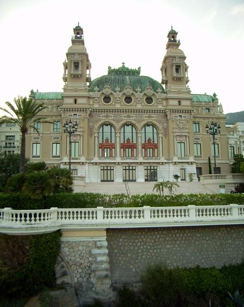 Oper in Monte Carlo (Fürstentum Monaco)