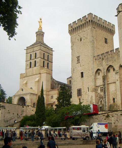 Avignon - Kathedrale Notre-Dame