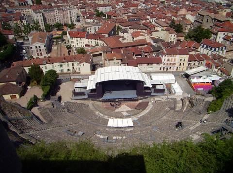 Römisches Theater - Vienne