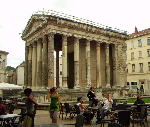 Tempel von Augustus und Livia - Vienne