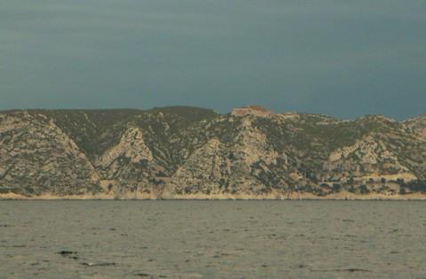 Segeln an der Küste vor Marseille