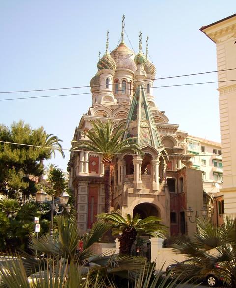 russisch orthodoxe Kirche - Sanremo