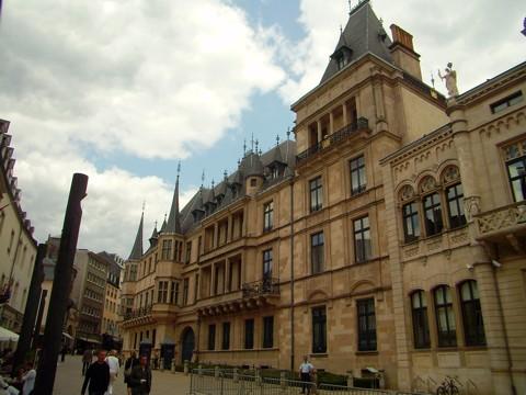 Luxemburg - Großherzogliches Palais