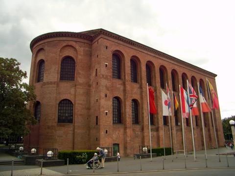Trier - Konstantin Basilika - Römische Palastaula