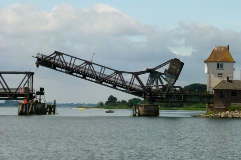 Schlei Klappbrücke Lindaunis