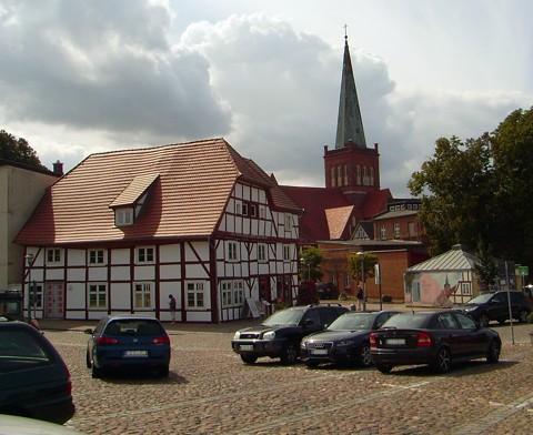 Markt - Bergen auf Rügen
