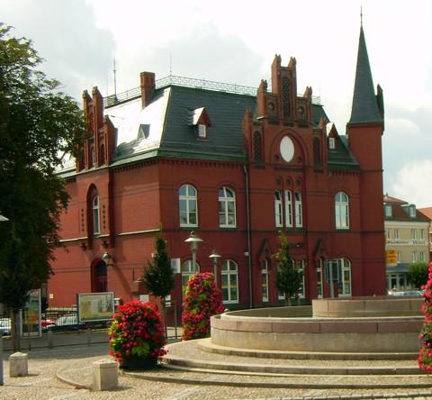 Postgebäude - Bergen auf Rügen