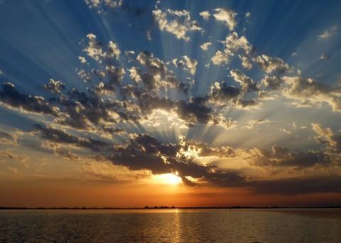 Sonnenuntergang bei Hiddensee