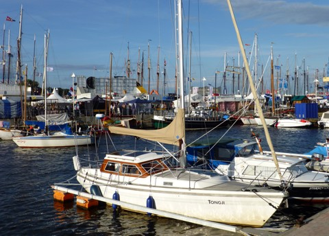 Tongji, Hanse Sail