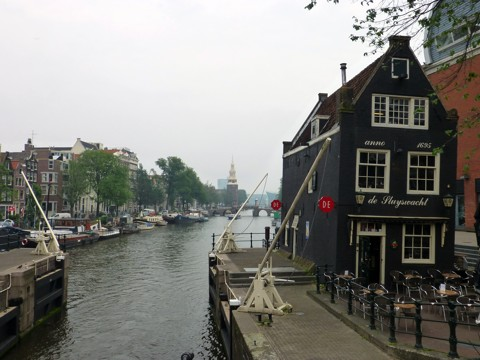 de Sluyswacht in Amsterdam