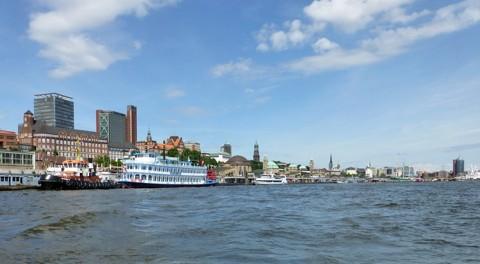 Hamburg von der Elbe