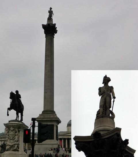 Admiral Nelson Denkmal