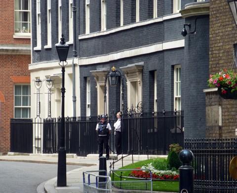 Downing Street No 10 - London