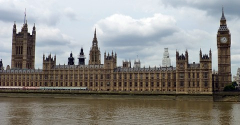 Houses of Parliament / Palace of Westminster - London