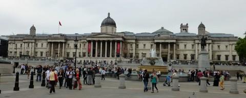 London National Gallery - Trafalgar Square