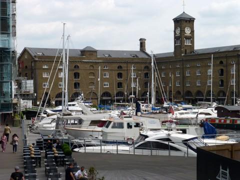 St Katharine Docks - London