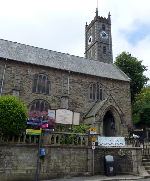 Church of King Charles the Martyr in Falmouth
