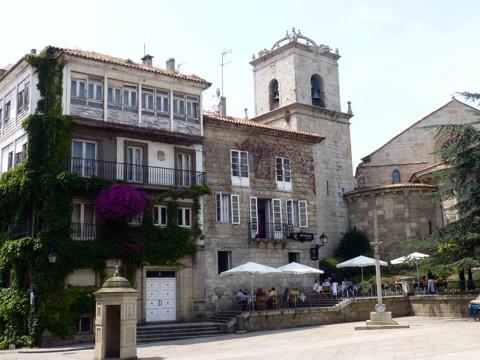 La Coruna - Altstadt