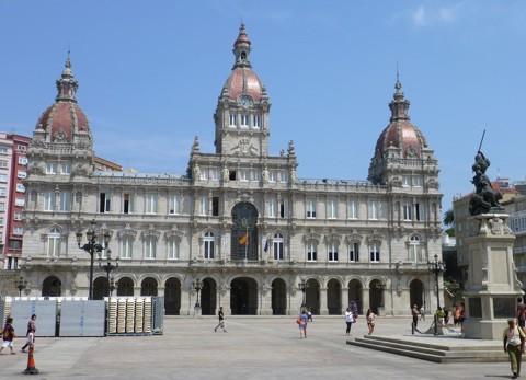 Rathaus in La Coruna