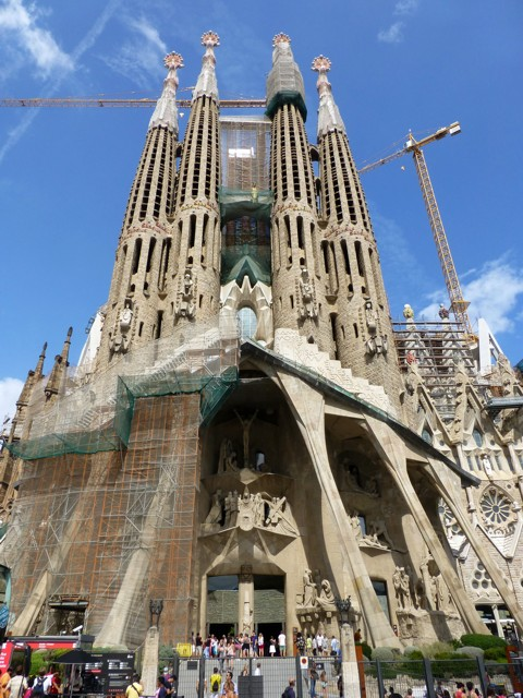 Barcelona - Basilika Sagrada Família