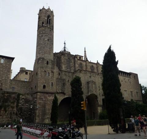 Barcelona - Roman Wall and Tower