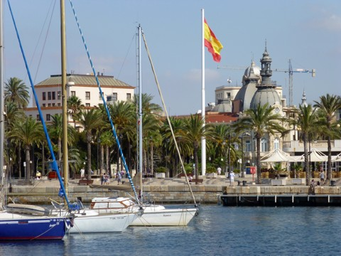 Cartagena Hafen - Tongji