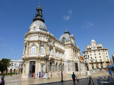 Cartagena Rathaus