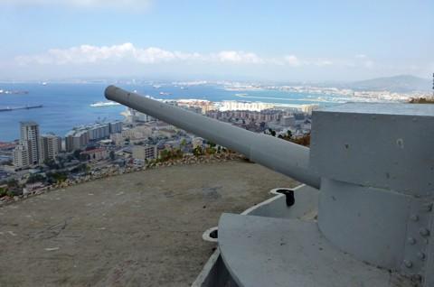 Geschützstellung - Gibraltar