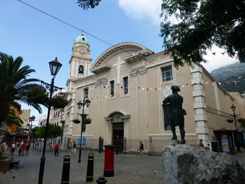Kathedrale St Mary the Crowned - Gibraltar