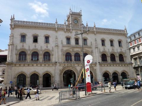 Lissabon - Est do Rossio